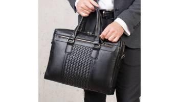 Выбираем деловую сумку для мужчин – универсальность кожаных изделий