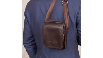 Причины, влияющие на популярность кожаных мужских сумок через плечо