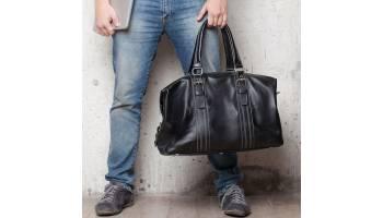 Кожаная дорожная сумка: достоинства и правила выбора