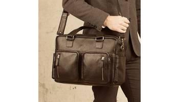 Какой должна быть мужская сумка для командировок