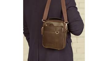 Мужские кожаные сумки для лета