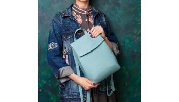 Как выбрать женский кожаный рюкзак и с чем его носить?