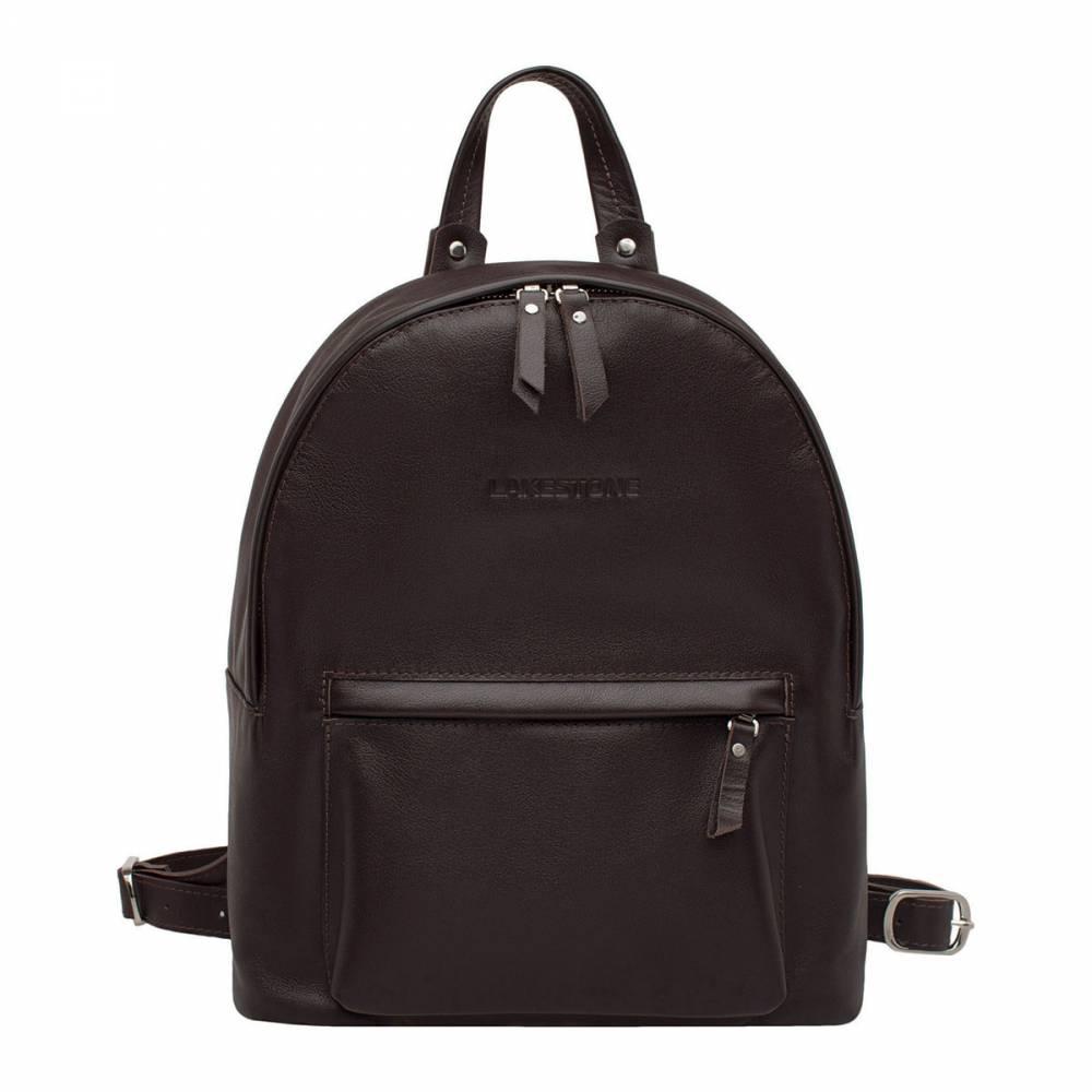 Женский рюкзак Ambra BrownУдобный рюкзак из натуральной кожи. Это аксессуар станет&#13; незаменимым спутником любой представительницы прекрасного пола, ведущей&#13; активный образ жизни. Рюкзак выполнен вручную, все детали подбирались и&#13; подгонялись мастером не спеша, поэтому найти даже минимальный изъян в изделии&#13; просто невозможно. Рюкзак очень вместительный, в него без проблем можно&#13; положить ноутбук до 14 дюймов в диагонали и иные, не менее габаритные вещи.&#13; Смотрится аксессуар стильно, дорого и очень женственно.<br>