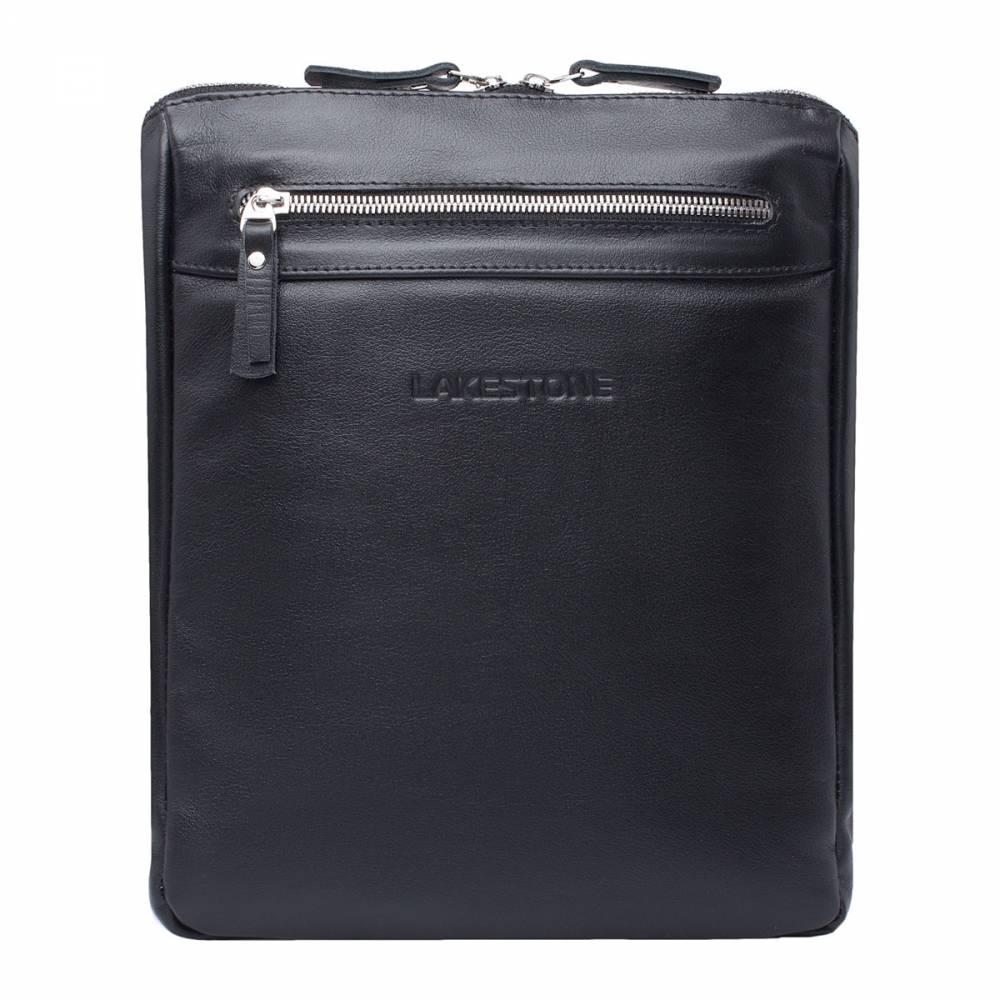 Сумка через плечо Arden BlackСтильная сумка через плечо для&#13; ежедневного использования. Этот аксессуар не нуждается в каких-либо&#13; дополнениях. Он будет отлично смотреться с любым образом, так как выполнен из&#13; качественной натуральной кожи и имеет безупречный дизайн. Внутреннее отделение разбито на&#13; две секции, каждая из которых достаточно объемная, чтобы поместить в них&#13; документы, портмоне, смартфон, канцелярские принадлежности и многое другое.<br>