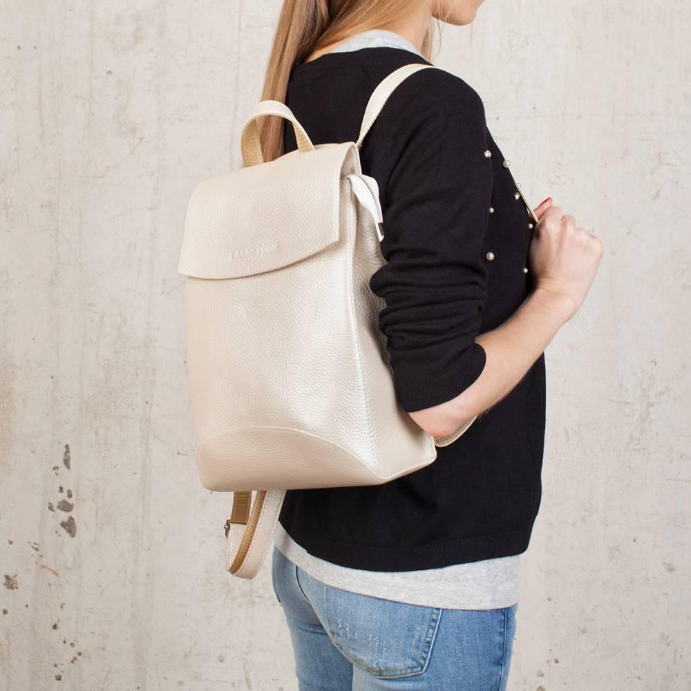 Женский рюкзак Ashley Beige Pearl