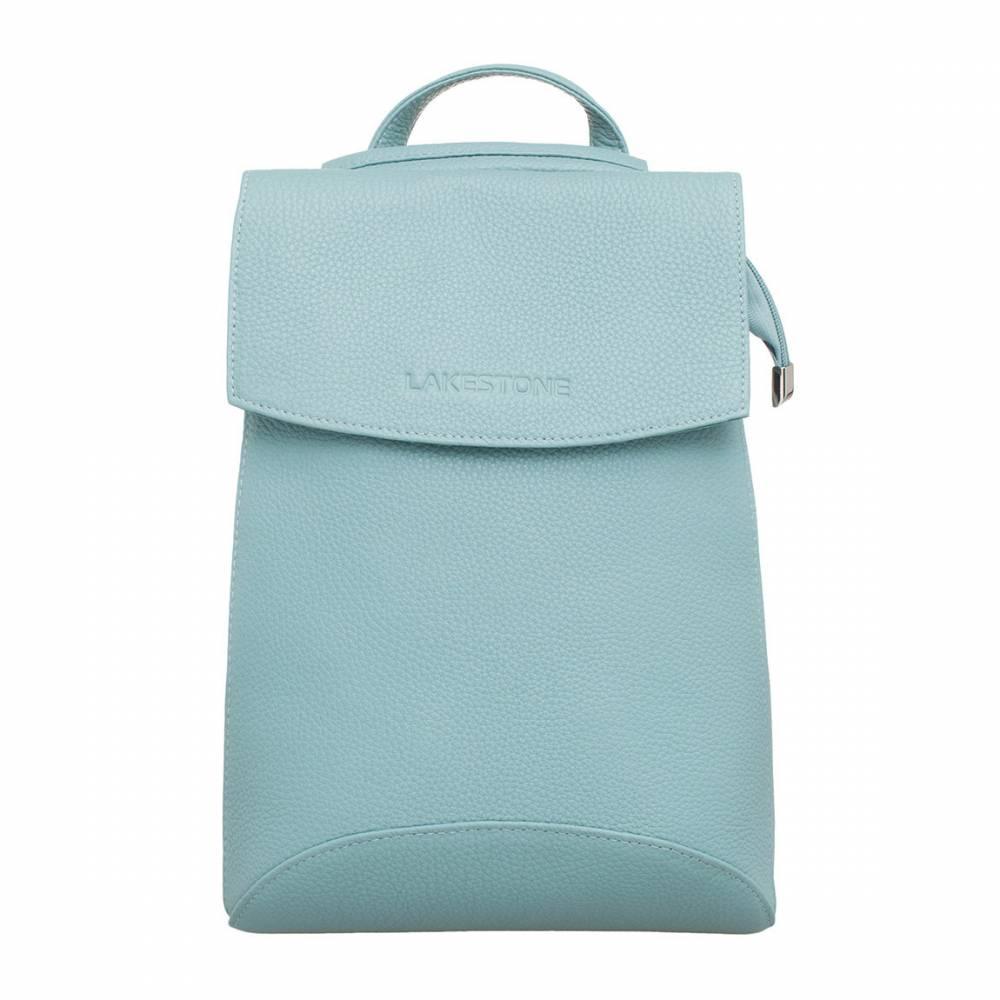 Женский рюкзак Ashley Blue Pearl&amp;lt;p&amp;gt;Стильный рюкзак из натуральной кожи цвета «голубой перламутр» смотрится очень женственно и нежно. Такой аксессуар обязательно станет приоритетным изделием на каждый день. &amp;lt;/p&amp;gt;&amp;lt;p&amp;gt;Модель сочетается с любым образом, а возможность ее транспортировки в качестве сумки через плечо, делает возможности аксессуара практически безграничными. Поместив вещи внутрь изделия, можно не переживать по поводу их сохранности. Рюкзак фиксируется на молнию и сверху закрывается откидным магнитным клапаном. &amp;lt;/p&amp;gt;&amp;lt;p&amp;gt;Чтобы разместить все вещи по своим местам, одно внутреннее просторное отделение оснащено карманами открытого и закрытого типа. Лямки рюкзака выполнены из качественной натуральной кожи, что позволит использовать изделие на протяжении длительного времени без ущерба для его внешнего вида.&amp;amp;nbsp;&amp;lt;/p&amp;gt;<br>