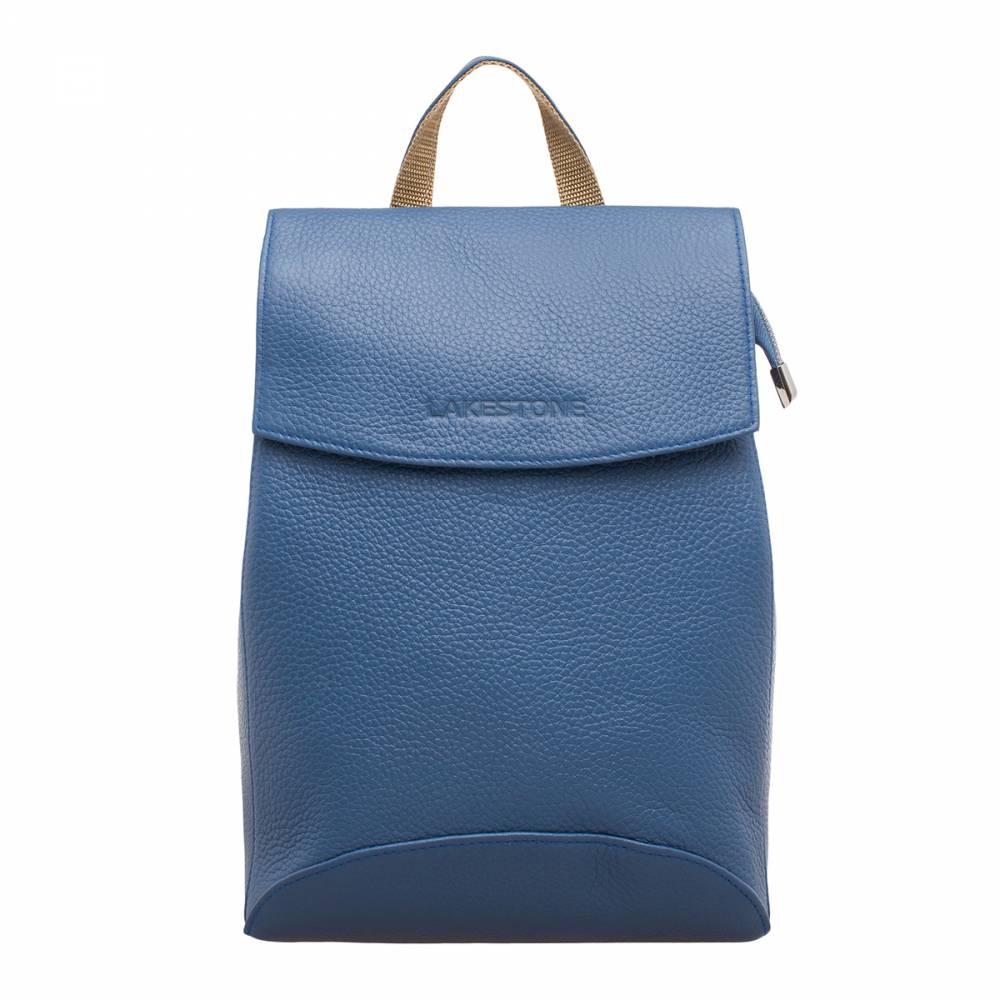 Женский рюкзак Ashley Blue&amp;lt;p&amp;gt;Женский рюкзак-трансформер, который можно смело использовать в двух вариациях: в качестве сумки через плечо и в качестве стильного рюкзака. Изделие пошито из натуральной кожи приятного и глубокого светло-синего цвета. Текстура кожи вызывает непреодолимое желание провести по ней ладонью, чтобы ощутить ее невероятную мягкость. &amp;lt;/p&amp;gt;&amp;lt;p&amp;gt;Внутреннее содержимое изделия надежно фиксируется на молнию и на откидной магнитный клапан из натуральной кожи. Одна основная секция очень просторная и позволяет разместить в недрах аксессуара множество вещей. Рюкзак дополнен одним наружным карманом с обратной стороны изделия. Такая стильная и практичная модель обязательно должна быть в гардеробе каждой женщины.&amp;amp;nbsp;&amp;lt;/p&amp;gt;<br>