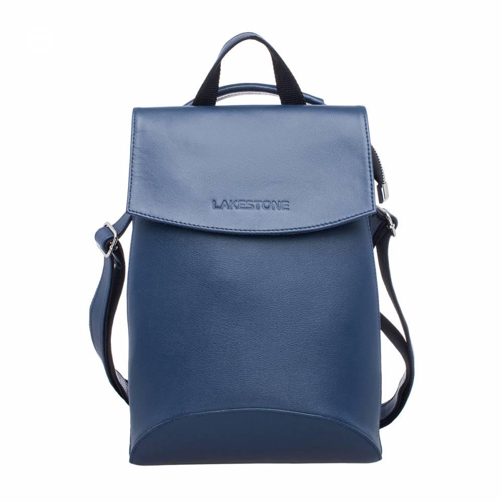 Женский рюкзак Ashley Dark Blue&amp;lt;p&amp;gt;Очень яркий и динамичный рюкзак-трансформер для современных женщин. Это изделие привлекает внимание, благодаря своему неповторимому дизайну. Такой аксессуар можно взять с собой практически куда угодно: в поездку, на прогулку, за покупками, в офис. Это отличное решение для студенток, молодых мам и просто активных женщин. Рюкзак одновременно вместительный и компактный. Он выполнен в духе современности, когда элегантные формы сочетаются с продуманным функционалом. Еще одной особенностью является то, что рюкзак трансформируется в сумку и носится на одном плече.&amp;amp;nbsp;&amp;lt;/p&amp;gt;<br>