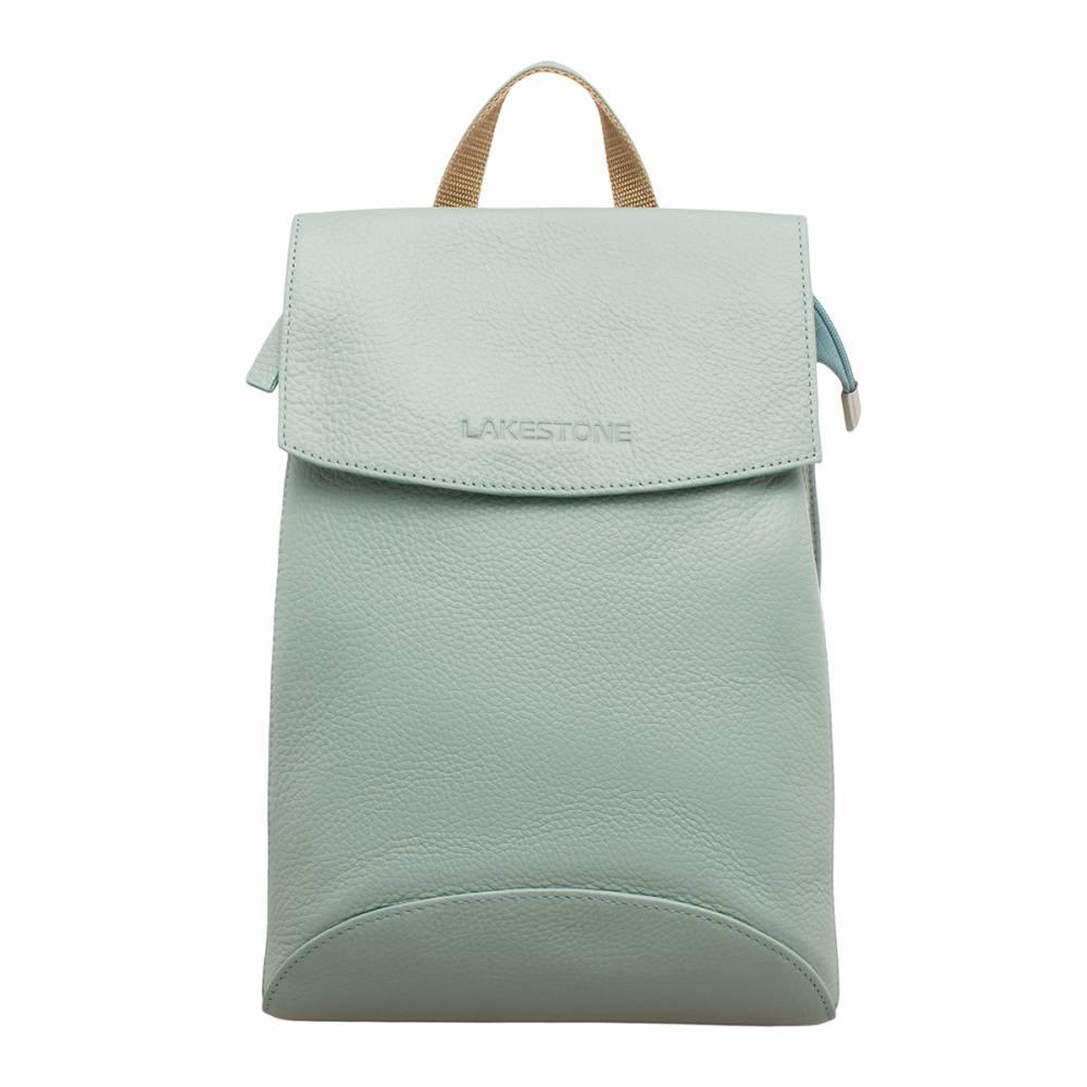 Женский рюкзак Ashley Mint Green&amp;lt;p&amp;gt;Стильный и современный рюкзак-трансформер модного мятного цвета – это отличное решение на каждый день. Такой аксессуар можно использовать в качестве сумки через плечо. Поэтому он отлично сочетается с любым образом, который выбирает его обладательница. &amp;lt;/p&amp;gt;&amp;lt;p&amp;gt;Внутреннее пространство изделия не имеет лишних перегородок, что позволяет транспортировать в нем довольно внушительный объем вещей. Чтобы мелкие атрибуты не затерялись в недрах рюкзака, в нем имеются карманы открытого и закрытого типа. Фиксируется аксессуар на молнию и на откидной магнитный клапан. &amp;lt;/p&amp;gt;&amp;lt;p&amp;gt;Модель пошита из натуральной кожи, которая имеет неповторимый рисунок, созданный самой природой. Лямки рюкзака также выполнены из кожи, что очень практично.&amp;amp;nbsp;&amp;lt;/p&amp;gt;<br>
