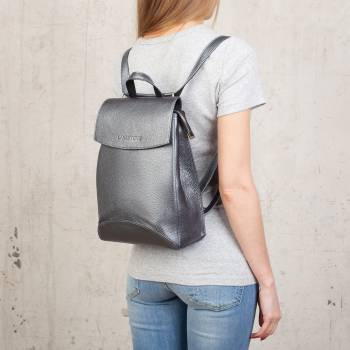 Женский рюкзак Ashley Silver Grey