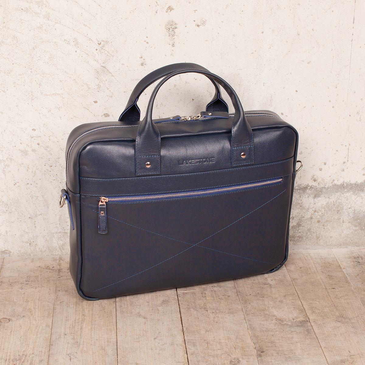Деловая сумка Bartley Dark Blue