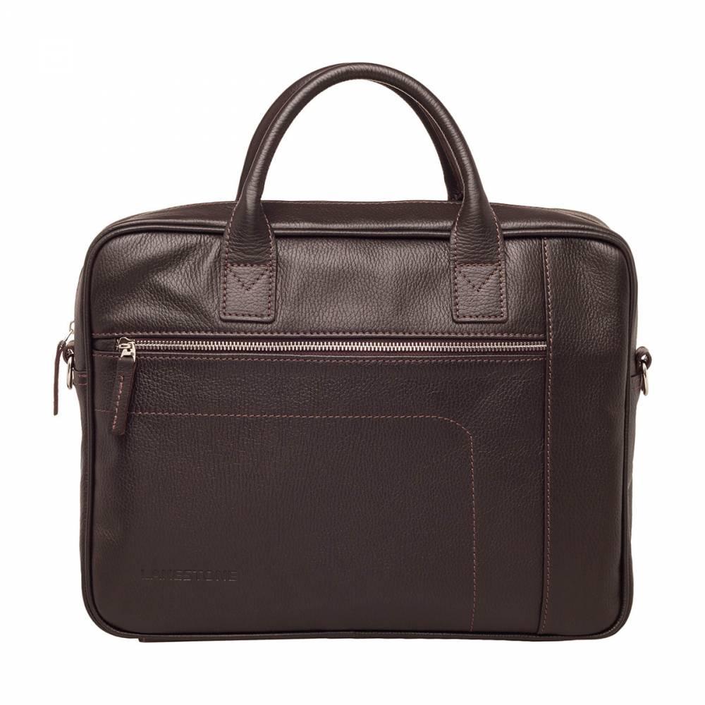 Деловая сумка Baxter Brown&amp;lt;p&amp;gt;Представленная модель деловой сумки для мужчин является чем-то средним между офисным портфелем и папкой для документов. Но при этом аксессуар выглядит очень презентабельно, достойно и строго. Им удобно пользоваться ежедневно, ведь все необходимые вещи всегда будут под рукой. Внутри сумки много места для документов, бумаг, хватит пространства для ноутбука в 15 дюймов по диагонали. Кроме того, сумка дополнена наружными карманами, которые выступают еще и в качестве элементов декора.&amp;amp;nbsp;&amp;lt;/p&amp;gt;<br>