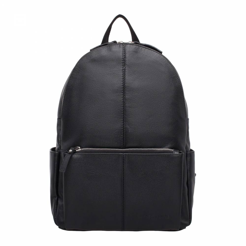 Женский рюкзак Belfry Black&amp;lt;p&amp;gt;Стильный кожаный рюкзак для женщин: компактное и одновременно вместительное изделие. Аксессуар оснащен двумя секциями, что дает возможность взять с собой множество необходимых вещей. Рюкзак имеет мягкие и плавные формы, но при этом он не лишен динамики. Такое сочетание позволяет брать его с собой и на прогулку, и в магазин, и на занятия в институт, и в тренажерный зал - практически куда угодно! Выбирая этот рюкзак нужно приготовиться к тому, что все подруги начнут задавать вопросы про место его покупки. А вот раскрывать ли этот секрет - личное дело каждого :)&amp;amp;nbsp;&amp;lt;/p&amp;gt;<br>