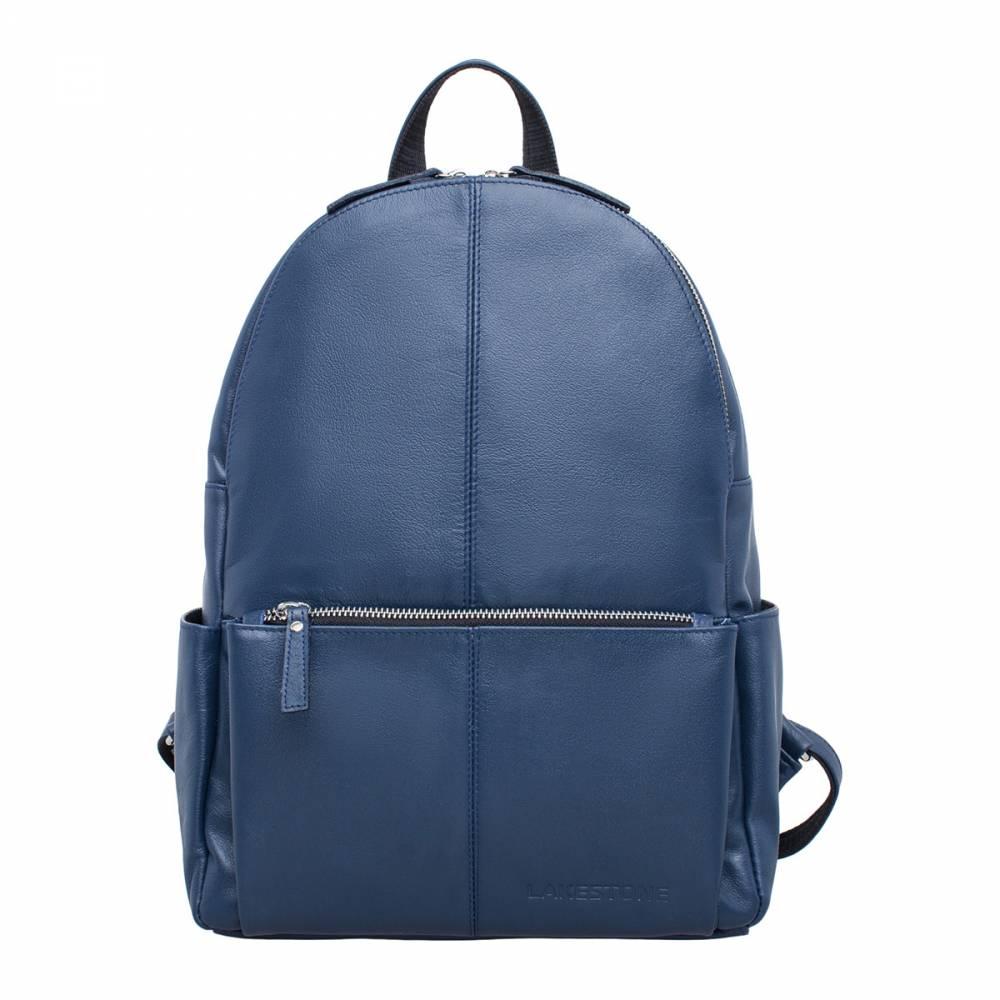 Женский рюкзак Belfry Dark Blue&amp;lt;p&amp;gt;Пройти мимо такого аксессуара просто невозможно. Этот стильный, современный и элегантный женский рюкзак так и просится, чтобы его взяли в руки. Натуральная кожа из которой пошит аксессуар очень приятна на ощупь, а насыщенный темно-синий цвет будет отлично гармонировать с любым образом. Рюкзак очень женственный, имеет плавные формы и продуманный дизайн. Несмотря на компактные размеры, изделие оснащено двумя очень просторными независимыми друг от друга секциями. Это стильное решение для современной женщины на каждый день.&amp;amp;nbsp;&amp;lt;/p&amp;gt;<br>