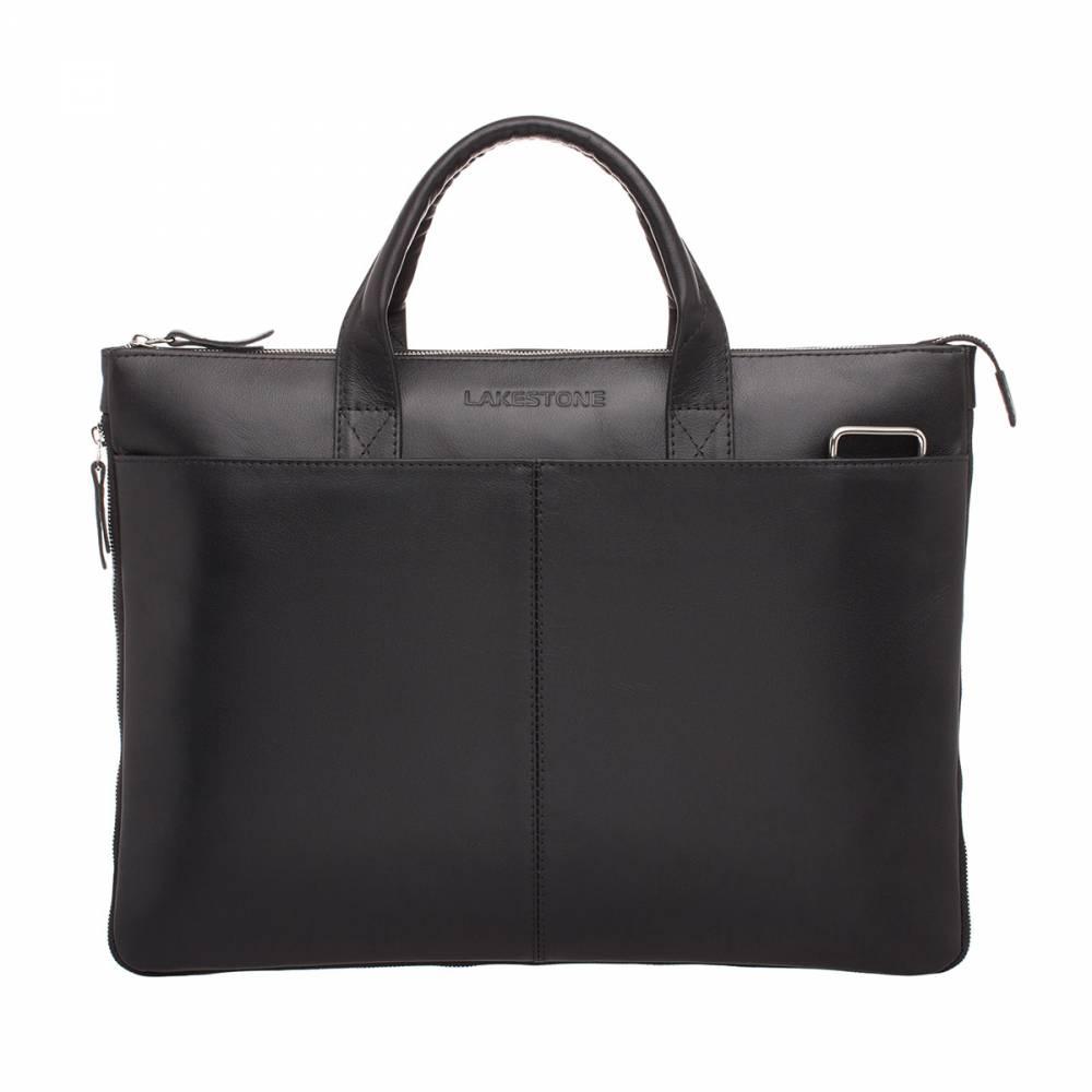 Деловая сумка Bolton Black&amp;lt;p&amp;gt;Интереснейшей особенностью этой стильной сумки является то, что ее объем увеличивается одним движением молнии, которая аккуратно расположилась по периметру изделия. Идеальное решение для современного делового человека. Дизайн строг и минималистичен, глубокий черный цвет не оставит никого равнодушным. Сумка создана вручную из высококачественной натуральной кожи.&amp;amp;nbsp;&amp;lt;/p&amp;gt;<br>