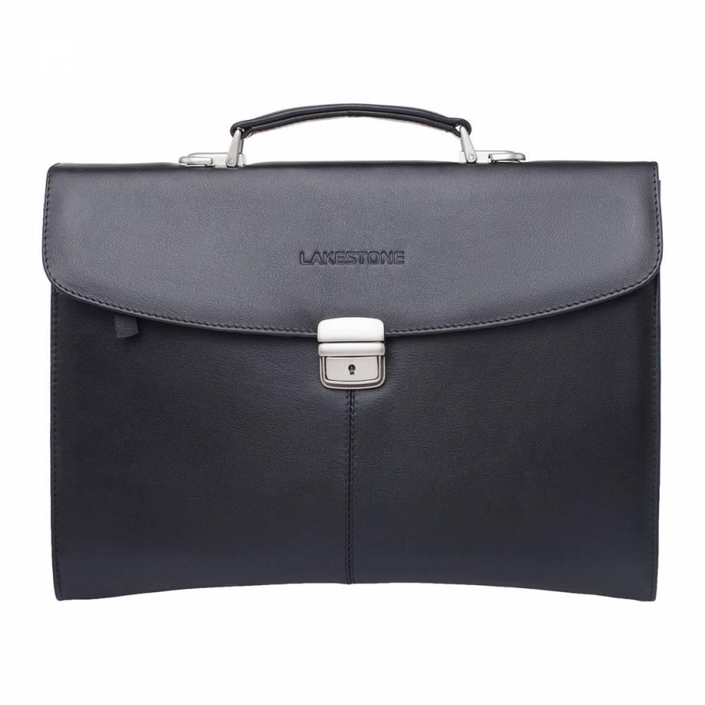 Папка-портфель Boverton BlackСтильный и качественный мужской мягкий портфель слим-формата. Это оригинальное изделие сочетает в себе сразу два аксессуара,&#13; которые так необходимы деловому мужчине. Теперь можно отказаться от покупки&#13; отдельно папки и отдельно деловой сумки, что позволяет значительно сэкономить&#13; денежные средства. Изделие выполнено из натуральной&#13; кожи, которая не только очень привлекательно выглядит, но и приятна на ощупь.&#13; Аксессуар прослужит своему обладателю долгое время и не раз выручит в сложных&#13; ситуациях. Ведь благодаря такому вместительному изделию, можно одновременно при&#13; себе иметь все необходимые ценные бумаги, документы, ноутбук, канцелярские&#13; принадлежности, ежедневник и многое другое.<br>