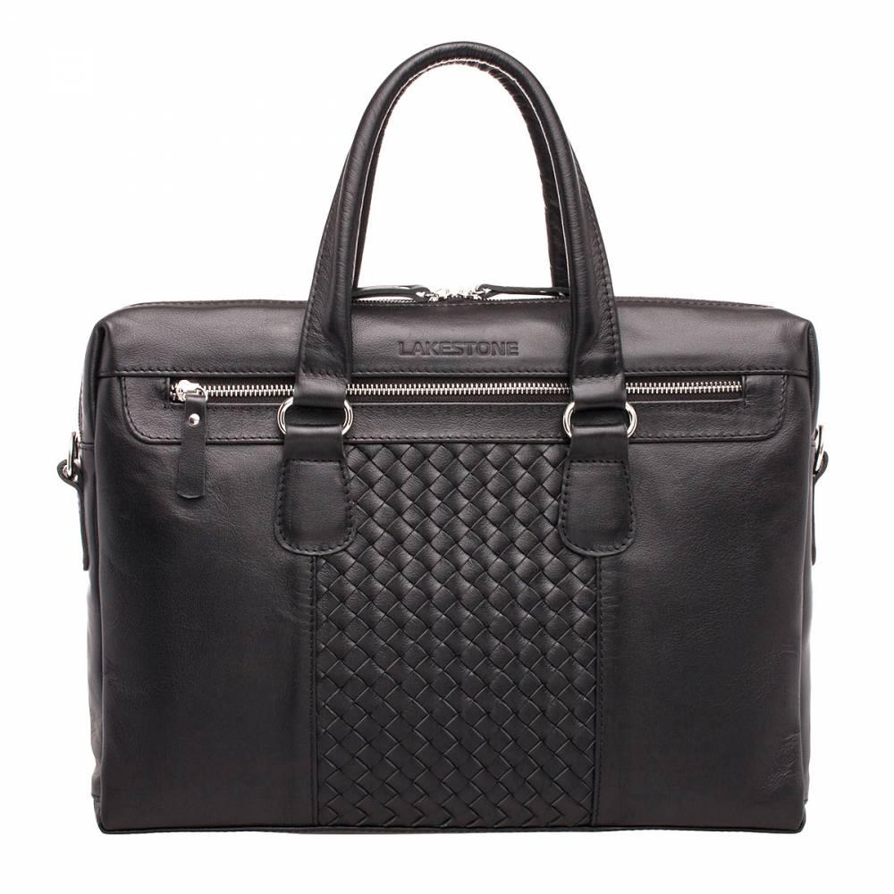 Деловая сумка Bramley Black&amp;lt;p&amp;gt;Когда стиль и качество сочетается в одном изделии, его можно назвать верхом совершенства. Впрочем, судить только мужчине, который станет счастливым обладателем представленного аксессуара. &amp;lt;/p&amp;gt;&amp;lt;p&amp;gt;Сумка полностью изготовлена из натуральной кожи, которая была и остается самым лучшим материалом для аксессуаров на каждый день. На фронтальной стороне изделия имеется уникальное плетение, выполненное мастером вручную. Его невозможно не заметить или остаться к такой красоте равнодушным. &amp;lt;/p&amp;gt;&amp;lt;p&amp;gt;Внутреннее пространство организовано грамотно. В нем найдется место как для современных электронных гаджетов, так и для документации. Сумка отлично держит форму, поэтому не потеряет своей презентабельной внешности даже при частичном заполнении. Это возможно благодаря жесткому каркасу и усиленному дну.&amp;amp;nbsp;&amp;lt;/p&amp;gt;<br>