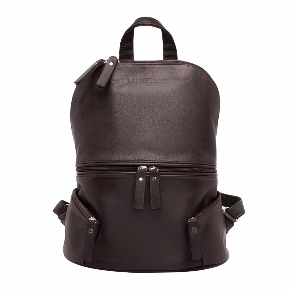 Женский рюкзак Bridges Brown&amp;lt;p&amp;gt;Очень стильный и качественный женский рюкзак, который прослужит своей обладательнице долгое время. Этот рюкзак не выйдет из моды и останется на пике популярности еще ни один год, ведь он имеет уникальный дизайн. Чего только стоят два наружных кармана на фасаде изделия, которые выгодно подчеркивают женственные формы аксессуара. Несмотря на его компактные размеры, в рюкзак можно поместить множество необходимых вещей, поэтому его удобно брать с собой на лекции, на прогулку, а также в магазин и даже на пикник за город. Практичное и стильное изделие на каждый день.&amp;amp;nbsp;&amp;lt;/p&amp;gt;<br>