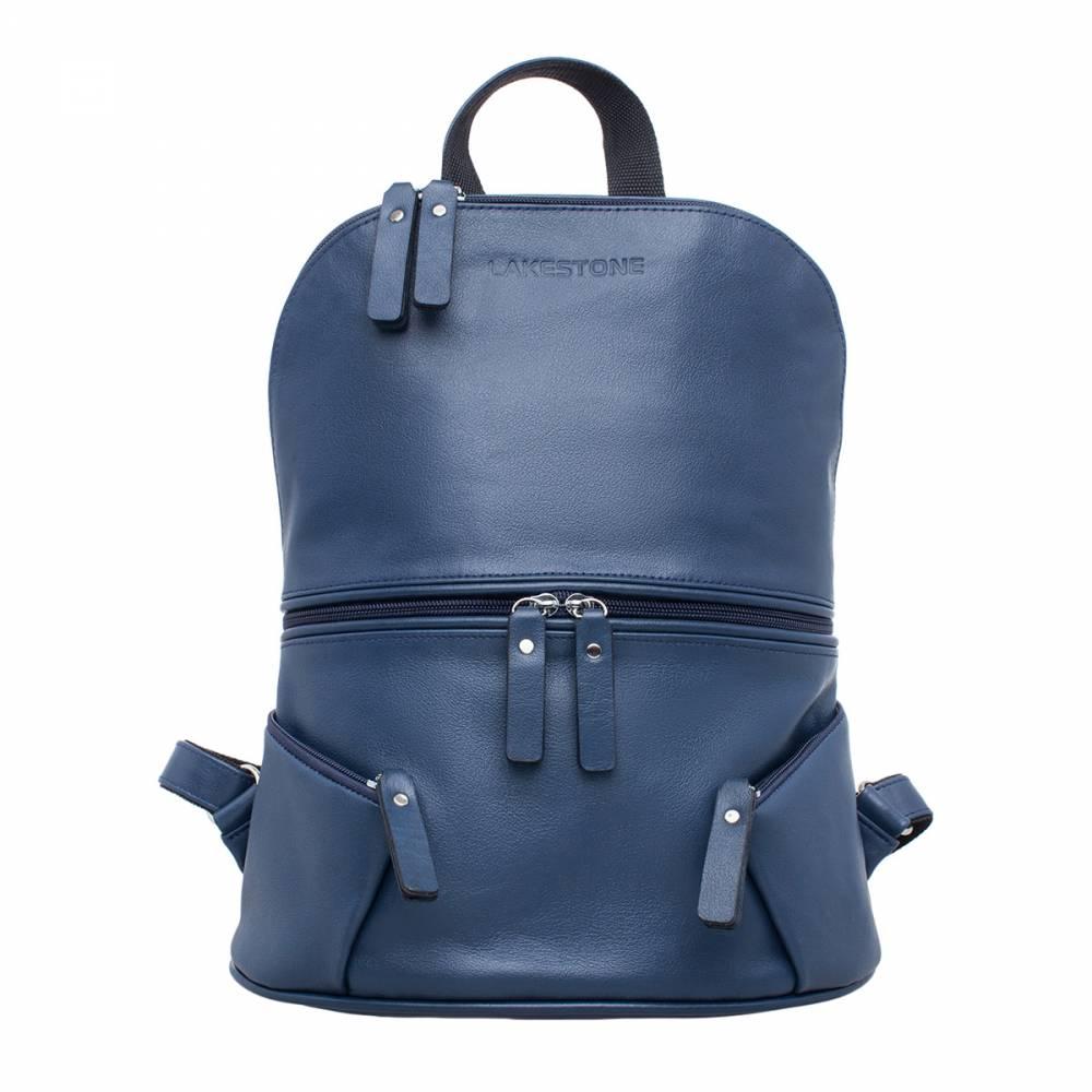Женский рюкзак Bridges Dark Blue&amp;lt;p&amp;gt;Яркий и динамичный женский рюкзак, который издалека привлекает внимание. С таким аксессуаром невозможно остаться незамеченной, поэтому его выбирают уверенные в себе девушки и женщины. Кроме того, что рюкзак имеет запоминающуюся внешность, он полностью пошит из натуральной кожи и обладает поразительной вместительностью. под молнией скрывается одна большая секция, которая позволит иметь при себе сразу все необходимые вещи: книги, журналы, элементы гардероба и многое другое. Ведь в женских сумках порой могут оказаться самые неожиданные элементы.&amp;amp;nbsp;&amp;lt;/p&amp;gt;<br>