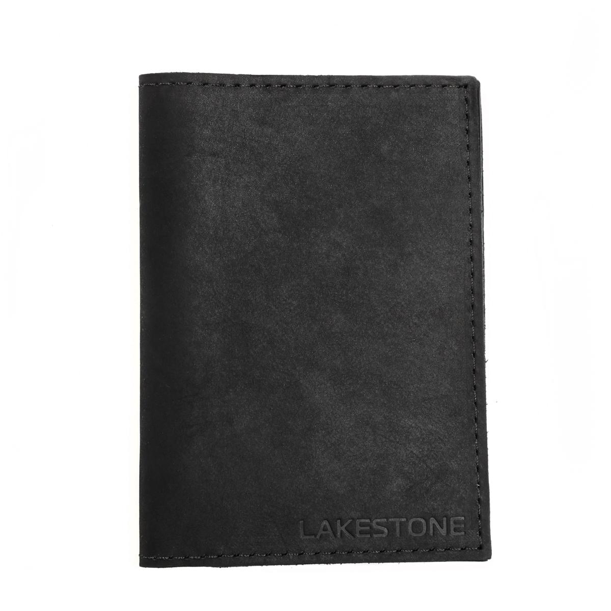 Купить Обложка для паспорта Broad Black, Lakestone
