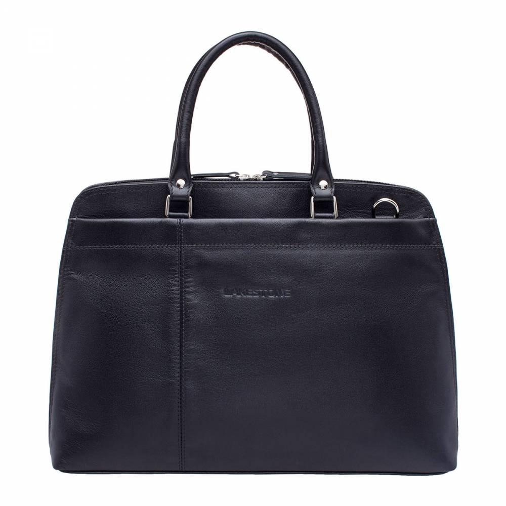 Деловая сумка Brunel BlackСтрогий и одновременно привлекательный внешний вид этой сумки не оставит равнодушным ни одного ценителя качественных&#13; аксессуаров. Изделие полностью выполнено из натуральной кожи, природный рисунок&#13; которой притягивает взгляды и вызывает желание прикоснуться к ней. Сумка очень удобна в эксплуатации. В ней найдется место для&#13; ноутбука до 14 дюймов в диагонали и для важных документов формата А4. Очень&#13; удобно пользоваться наружными карманами, которые есть как на фасаде, так и с&#13; обратной стороны сумки. Каждый деловой человек по достоинству оценит труд мастеров,&#13; которые работали над этим аксессуаром. В этой сумке нашли воплощение три&#13; базовых принципа - классические формы, качественные материалы и безупречный&#13; стиль.<br>