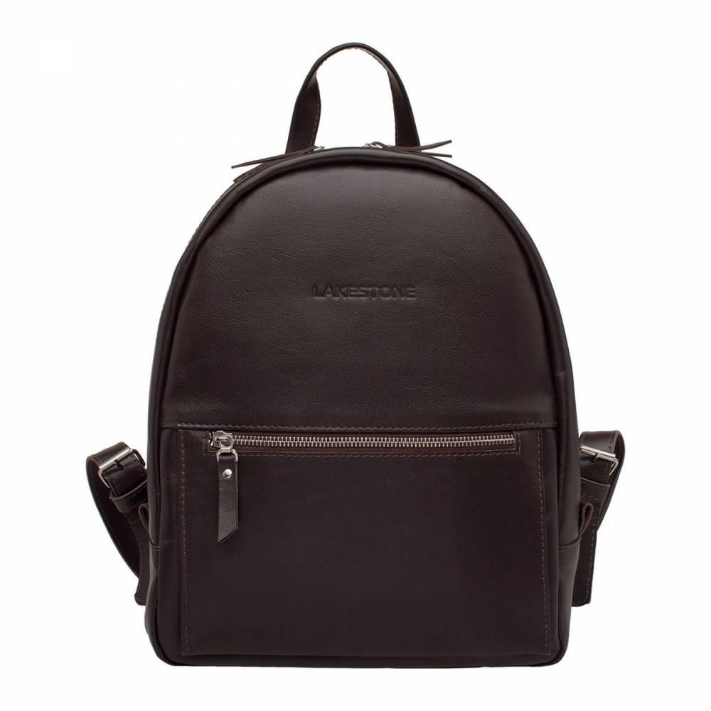 Женский рюкзак Caroline BrownСтильный компактный и одновременно вместительный женский&#13; рюкзак. Аксессуар изготовлен из натуральной кожи. Каждая деталь подгонялась&#13; вручную, поэтому найти хотя бы один изъян в изделии не удастся. Внутрь рюкзака можно без проблем поместить достаточно&#13; габаритные вещи, например, ноутбук до 14 дюймов в диагонали. Очень удобно&#13; транспортировать аксессуар как на плече, так и классическим способом. Для&#13; удобства обладательниц этого изделия, оно оснащено небольшой кожаной&#13; ручкой.<br>