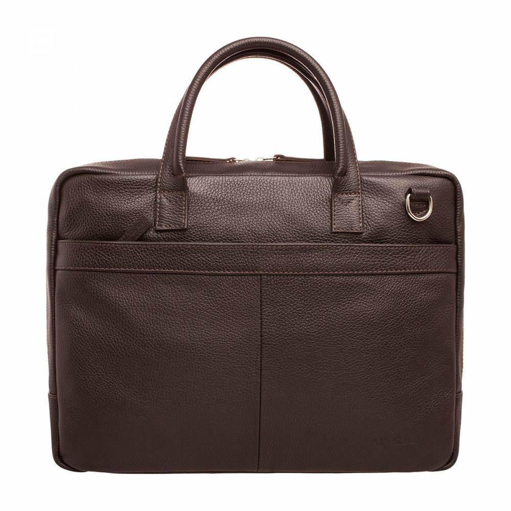 Деловая сумка Carter BrownДеловая сумка должна быть не только удобной, но и стильной. Это неприемлемое условие ведения успешного бизнеса. Благодаря аксессуарам складывается общее впечатление о человеке, поэтому нужно постараться не испортить его. С такой сумкой создать образ успешного бизнесмена не составляет труда. Изделие идеально подходит для трудовых будней, так как с ним можно отправиться и на работу в офис, и на встречу с партнерами в ресторан: практически куда угодно. При этом все бумаги, проекты и документы будут под рукой.&amp;amp;nbsp;<br>