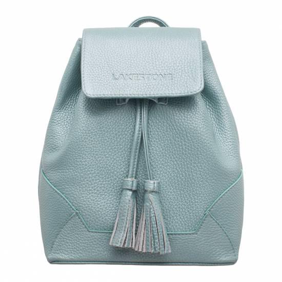 Небольшой женский рюкзак Clare Blue Pearl