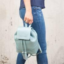 Небольшой женский рюкзак Clare Light Blue