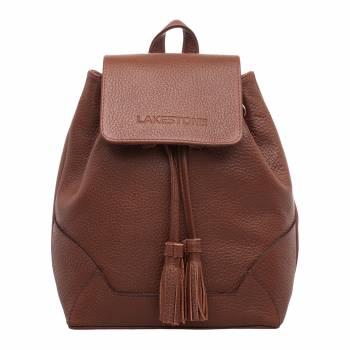 Небольшой женский рюкзак Clare Light Brown