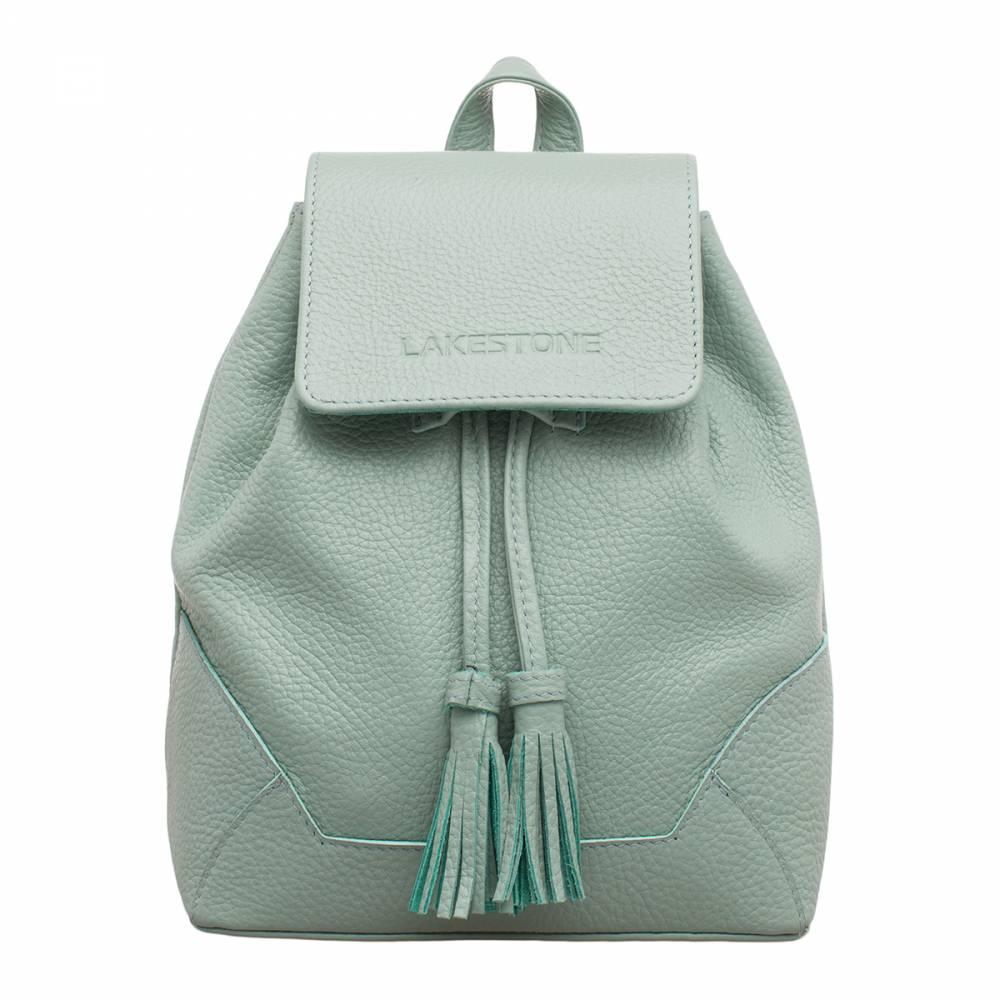 Небольшой женский рюкзак Clare Mint Green&amp;lt;p&amp;gt;Очень компактный и вместительный рюкзак цвета «мята». Считается, что рюкзак – не совсем женственное изделие, однако, только не тогда, когда речь идет о представленной модели. Этот аксессуар как нельзя лучше подойдет представительнице слабого пола, имеющей безупречный вкус. &amp;lt;/p&amp;gt;&amp;lt;p&amp;gt;Изделие очень практично в эксплуатации. Оно оснащено лямками, которые позволяют отставлять руки свободными. Кроме того, рюкзак дополнен небольшой ручкой, что делает возможным его транспортировку в руке. &amp;lt;/p&amp;gt;&amp;lt;p&amp;gt;Дно жесткое, а сам аксессуар имеет мягкие стенки, но, несмотря на это, он отлично держит форму. Внутри, кроме одного просторного отсека, можно обнаружить дополнительные карманы открытого и закрытого типа. Такой практичный рюкзак обязательно должен быть в гардеробе каждой женщины.&amp;amp;nbsp;&amp;lt;/p&amp;gt;<br>