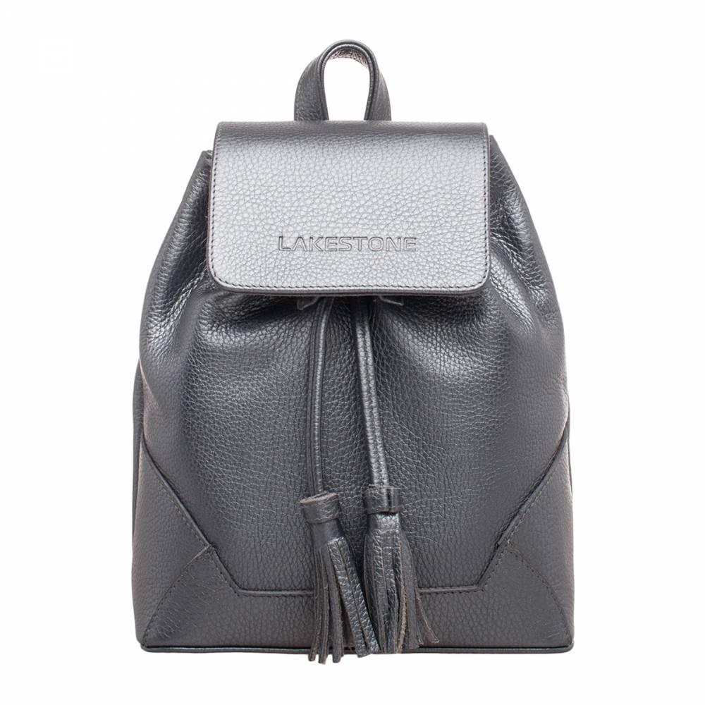 Небольшой женский рюкзак Clare Silver Grey&amp;lt;p&amp;gt;Компактный рюкзак ультрамодного серебряного цвета. Этот аксессуар отлично дополнит любой образ, созданный его обладательницей. &amp;lt;/p&amp;gt;&amp;lt;p&amp;gt;Изделие пошито из качественной натуральной кожи, которая невероятно практична в эксплуатации. С таким изделием можно не переживать по поводу того, что каким-либо вещам не хватит места. В нем нет лишних перегородок, но есть дополнительные карманы открытого и закрытого типа. &amp;lt;/p&amp;gt;&amp;lt;p&amp;gt;Изделие очень удобно транспортировать за спиной, благодаря кожаным лямкам, которые регулируются по длине. Также можно переносить его в руке за небольшую ручку. Дно жесткое, что позволяет аксессуару держать форму. Внутреннее пространство надежно фиксируется на откидной магнитный клапан и стягивается кожаным шнурком с дизайнерскими кисточками на концах. Очень практичное и стильное изделие для представительниц прекрасной половины человечества.&amp;amp;nbsp;&amp;lt;/p&amp;gt;<br>