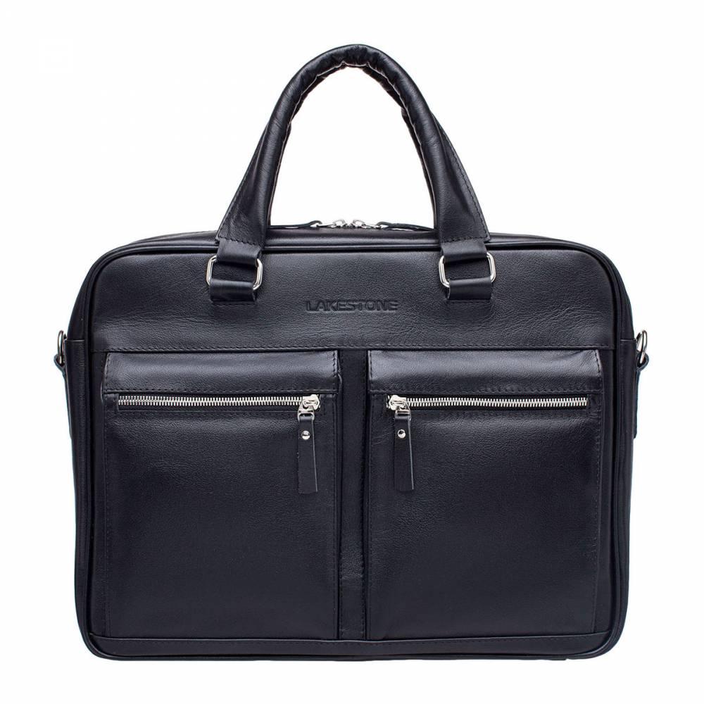 Деловая сумка Colston BlackСтрогая и вместительная деловая сумка – это изделие, которое&#13; порадует любого мужчину, знающего цену качественным аксессуарам. Сумка довольно практичная, так как позволяет вместить в себя&#13; габаритный ноутбук до 15 дюймов в диагонали, при этом останется достаточно&#13; места для важных бумаг, канцелярии и прочих важных мелочей. Для изготовления сумки использованы исключительно&#13; натуральные материалы. Кожа прочная, приятная на ощупь, имеет привлекательный&#13; внешний вид. Ручная работа профессиональных мастеров воплотилась в этом&#13; шедевре. Такая сумка станет желанным приобретением для каждого делового&#13; мужчины.<br>