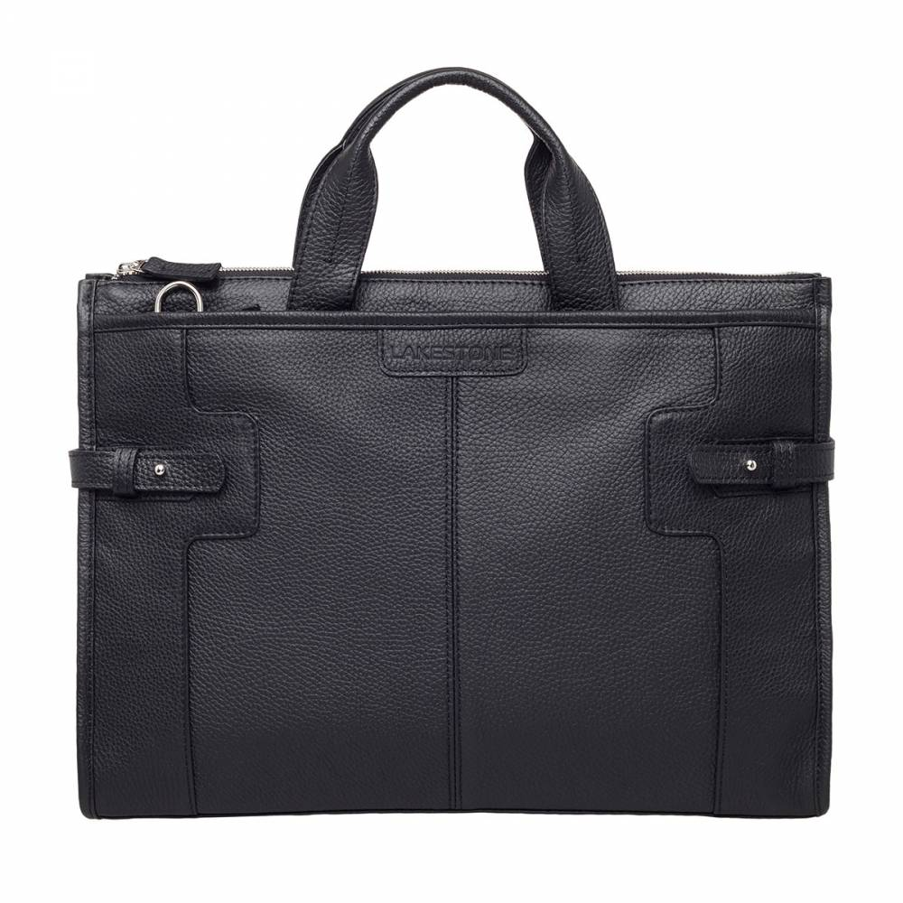 Деловая сумка Courtney Black&amp;lt;p&amp;gt;Очень вместительная и удобная сумка для ведения повседневных дел. Этот стильный аксессуар отлично подойдет тем мужчинам, которые понимают значимость мелочей, создающих безупречный образ делового и успешного человека в целом. Сумка отличается строгим, скромным, но одновременно притягивающим внимание дизайном. Невероятно стильно смотрятся боковые ремешки, благодаря которым аксессуар может увеличиваться в объеме. Естественно, что внутреннее пространство организовано не менее качественно.&amp;amp;nbsp;&amp;lt;/p&amp;gt;<br>