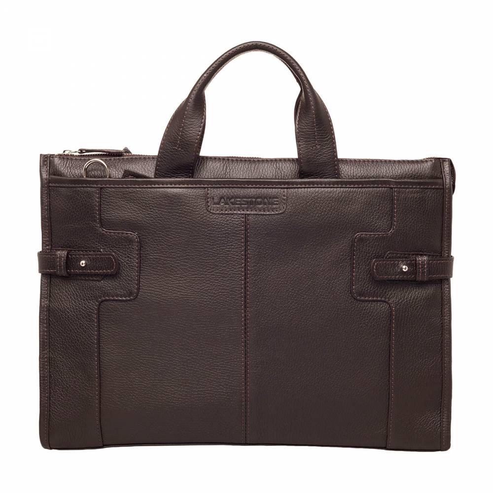Деловая сумка Courtney Brown&amp;lt;p&amp;gt;Очень удобная и стильная сумка для хранения огромного количества вещей. Этот аксессуар хотя и способен принять на свой борт множество атрибутов повседневной жизни (ноутбук, документы, смартфон, планшет и пр.), тем не менее, он не выглядит громоздким. Однозначно, что такая сумка будет привлекать взгляды окружающих, так как она имеет стильный и выверенный до мелочей дизайн. А как прекрасно смотрится полотно натуральной кожи глубокого коричневого цвета. Не менее приятно оно и на ощупь.&amp;amp;nbsp;&amp;lt;/p&amp;gt;<br>