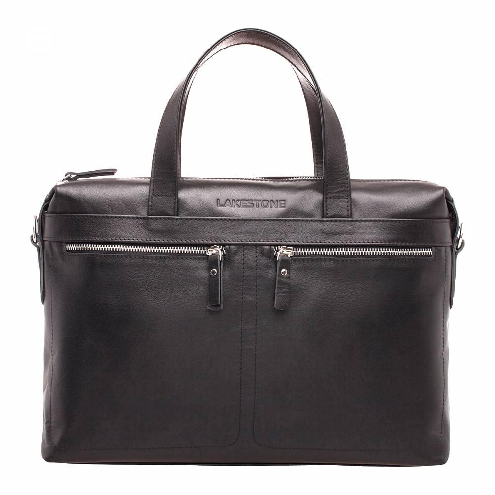Деловая сумка Dalston Black&amp;lt;p&amp;gt;Отличительные характеристики представленной модели – это качество и стиль. Изделие будет отлично смотреться с деловым костюмом, либо с классическими джинсами и пиджаком. Эту сумку уместно взять с собой как на деловую встречу, так и на работу в офис или на учебу в Институт.&amp;lt;/p&amp;gt;&amp;lt;p&amp;gt; Внутреннее пространство имеет грамотную организацию. В нем достаточно места для электроники, а также для иных мелочей, необходимых в повседневной жизни. Снаружи есть три встроенных кармана на фронтальной и на задней стороне сумки. &amp;lt;/p&amp;gt;&amp;lt;p&amp;gt;Ручки имеют правильную анатомическую форму, поэтому сумку удобно носить в ладони на протяжении целого дня. При необходимости можно воспользоваться съемным плечевым ремнем.&amp;amp;nbsp;&amp;lt;/p&amp;gt;<br>