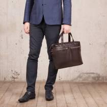 Деловая сумка Dalston Brown
