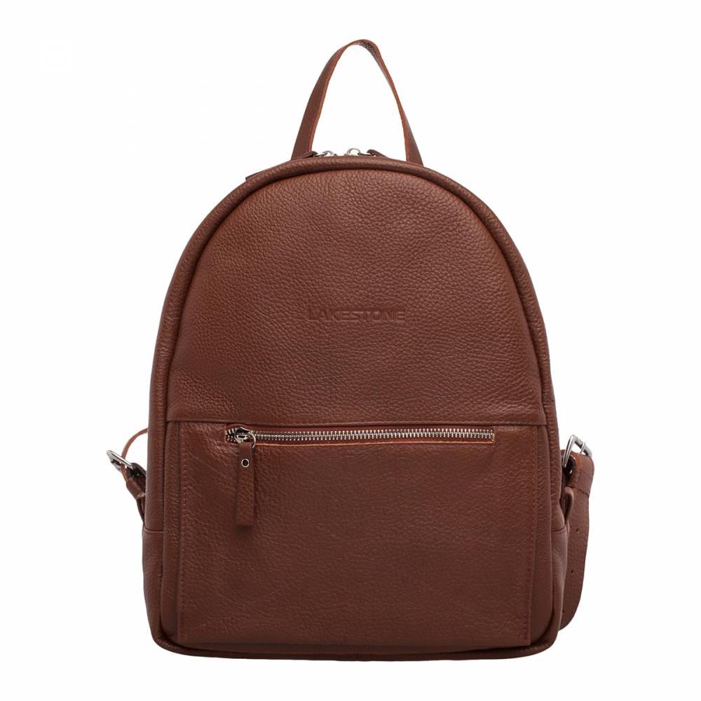 Женский рюкзак Darley Light Brown&amp;lt;p&amp;gt;Практичный рюкзак насыщенного коричневого цвета – очень стильный и удобный аксессуар, который отлично сочетается с любым образом. Изделие пошито из качественной натуральной кожи, поэтому будет радовать свою обладательницу привлекательным внешним видом на протяжении многих лет.&amp;lt;/p&amp;gt;&amp;lt;p&amp;gt; Рюкзак – это аксессуар, который никогда не утратит своей актуальности. Тем более, что представленная модель имеет плавные формы и подойдет как джинсам, так и к платью. Внутреннее пространство грамотно организовано, поэтому в рюкзак умещаются достаточно габаритные вещи, например, ноутбук до 14 дюймов в диагонали. &amp;lt;/p&amp;gt;&amp;lt;p&amp;gt;Изделие отличается компактными размерами, плавными формами и качественным исполнением. Такому приобретению будет рада любая представительница прекрасной половины человечества.&amp;amp;nbsp;&amp;lt;/p&amp;gt;<br>