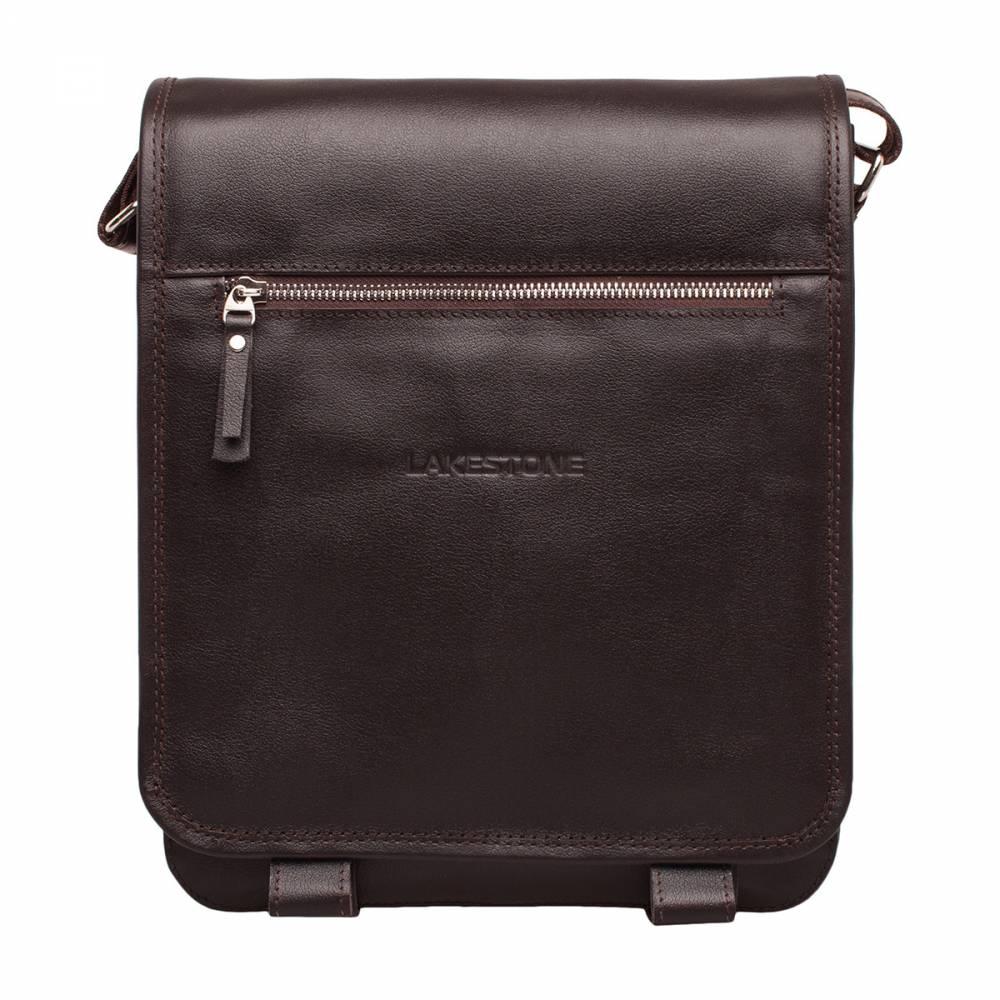 Сумка через плечо Denston Brown&amp;lt;p&amp;gt;Очень удобная, компактная и практичная сумка на каждый день. Хотя это изделие предназначено для использования во время трудовых будней, оно не лишено собственной индивидуальности. Аксессуар строгий, с твердым мужским стержнем, поэтому он может достаться только достойному представителю сильного пола. Сумка имеет жесткий каркас, что позволяет не переживать по поводу сохранности вещей, находящихся внутри. Кроме того, изделие не боится времени - оно пошито из натуральной кожи, которая долгие годы не потеряет своего привлекательного внешнего вида.&amp;amp;nbsp;&amp;lt;/p&amp;gt;<br>