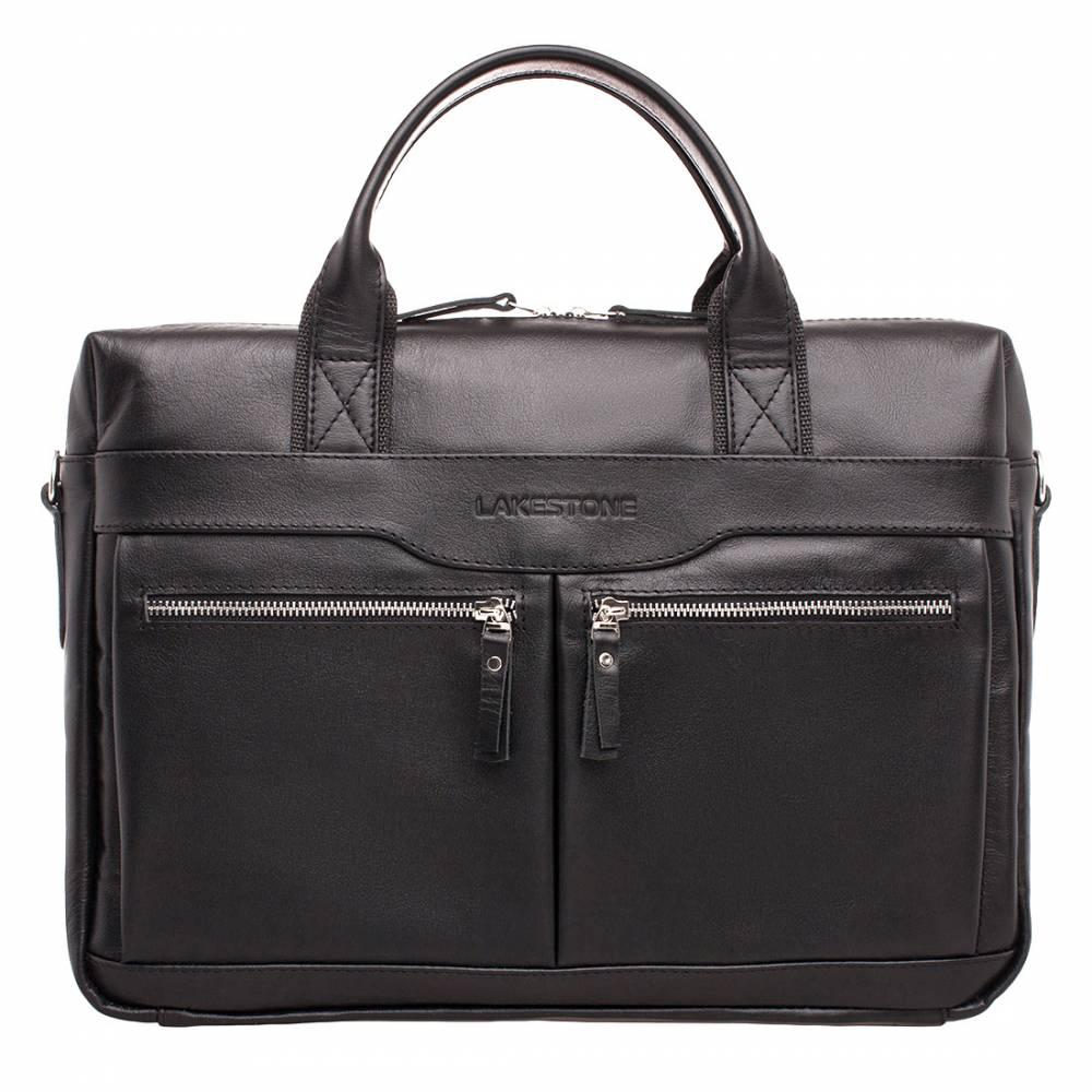 Деловая сумка Dorset Black&amp;lt;p&amp;gt;Стильная деловая сумка для успешного мужчины. Этот аксессуар обязательно придется по вкусу тем представителям сильной половины человечества, которые привыкли ценить качество во все, в том числе и в мелочах. &amp;lt;/p&amp;gt;&amp;lt;p&amp;gt;Изделие отличается уникальным дизайном, которые одновременно несет функциональную нагрузку. Молнии, на которые фиксируются карманы, выполняют эстетическую функцию, подчеркивая строгие формы изделия. Кроме того, изделие имеет дополнительное усиление по бокам, что гарантирует надежную защиту вещей, располагающихся внутри сумки. &amp;lt;/p&amp;gt;&amp;lt;p&amp;gt;Изделие удобно носить на плече и в ладонях. Ремень является съемным, а ручки имеют анатомическую форму.&amp;amp;nbsp;&amp;lt;/p&amp;gt;<br>