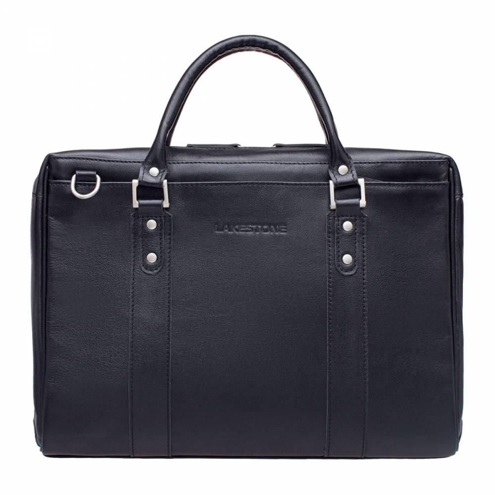 Деловая сумка Draycot BlackКожаная сумка для делового мужчины, которая способна стать&#13; отличной альтернативой портфелю, однако не обладает излишней строгостью. Четкие&#13; формы, качественная фурнитура, натуральная кожа с природным рельефом – все эти&#13; характеристики сделали изделие желанным приобретением для каждого солидного&#13; мужчины. Внутреннее пространство сумки организовано на 10 баллов из&#13; 10. Там найдется место для ноутбука, для документов, для канцелярских&#13; принадлежностей и иных мелочей, необходимых мужчине каждый день. Сумка&#13; выполнена в соответствии со всеми стандартами ручного изготовления кожаных&#13; аксессуаров.<br>