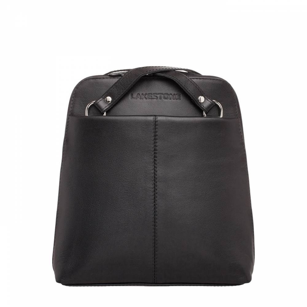 Компактный женский рюкзак-трансформер Eden Black&amp;lt;p&amp;gt;Очень практичный аксессуар - женский рюкзак-трансформер. Всего лишь за несколько движений он может превратиться в элегантную сумку. Теперь не будет нужды перекладывать вещи из одного аксессуара в другой. Так, придя домой после работы, достаточно просто переодеться и идти на прогулку или на занятия, не меняя сумку. Это экономит время и средства на покупку двух аксессуаров. Кроме того, рюкзак пошит из натуральной кожи, что позволит эксплуатировать его долгое время.&amp;amp;nbsp;&amp;lt;/p&amp;gt;<br>