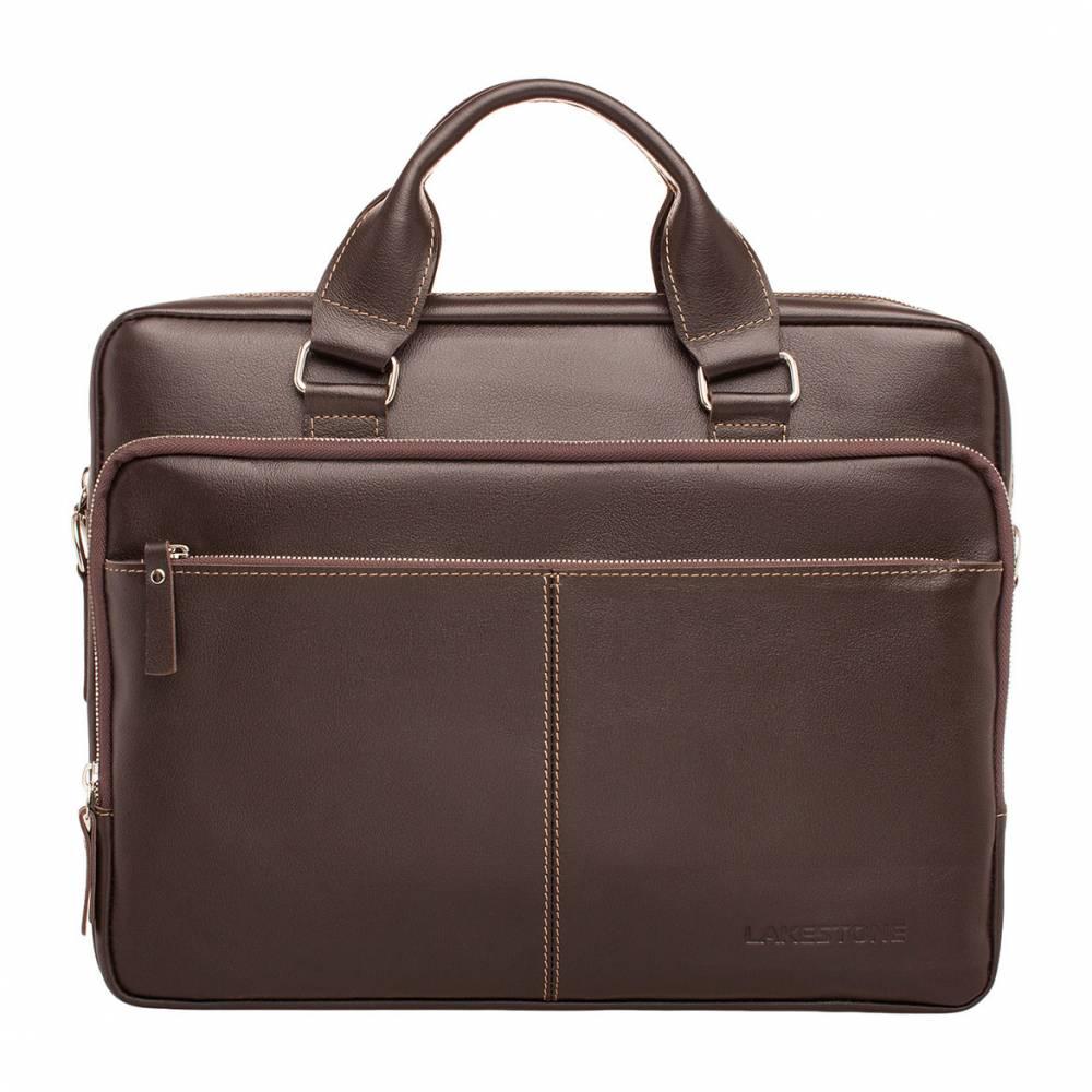 Деловая сумка Glenroy Brown&amp;lt;p&amp;gt;Стиль и качество – вот две основных характеристики, которые правомерны в отношении это мужской сумки. Такой аксессуар станет отличной альтернативой строгим портфелям. При этом сумка не уступает своему «товарищу» по функциональности и солидности, но выглядит более современно.&amp;lt;/p&amp;gt; &#13; &amp;lt;p&amp;gt;Внутреннее пространство имеет грамотную организацию. В нем достаточно места для хранения не только документов, но и ноутбука. Несмотря на очевидные преимущества сумки, она имеет вполне демократичную цену. Ручки анатомически выверенные, поэтому с транспортировкой не возникнет проблем. При необходимости всегда можно воспользоваться съемным плечевым ремнем, который идет в комплекте. &#13; &amp;lt;/p&amp;gt;<br>