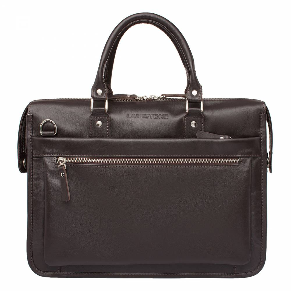 Деловая сумка Halston BrownСумка для деловых мужчин, выполненная в коричневом цвете.&#13; Это стильное изделие, аналогов которому найти практически невозможно. Кончено,&#13; на рынке кожаных аксессуаров существует множество экземпляров мужских сумок, но&#13; те, которые изготавливаются вручную всегда остаются в приоритете. В руках мастера лоскут натуральной кожи преобразился, ее&#13; природный рельеф&amp;amp;nbsp; подчеркивает солидность&#13; и статус обладателя такого аксессуара. Все детали выполнены с особой тщательностью, нет лишних стежков и строчек, металлическая фурнитура выглядит&#13; по-мужски брутально. Такая сумка является идеальным дополнением образа&#13; современного мужчины, который твердо знает, что он хочет от жизни и к чему&#13; стремится.<br>