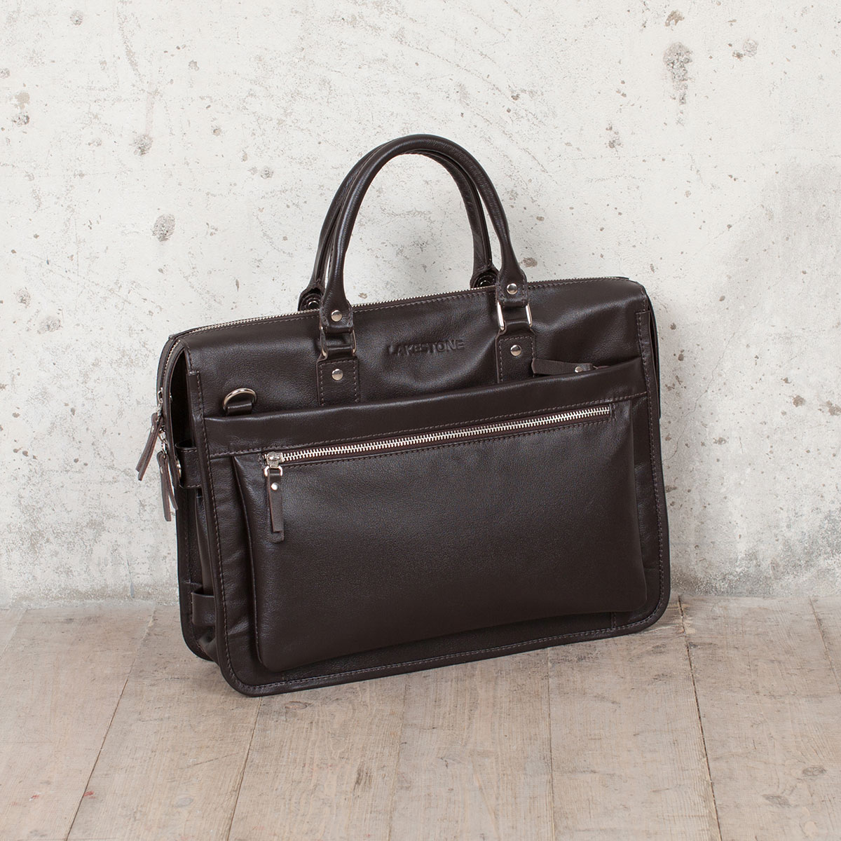 Деловая сумка Halston Brown