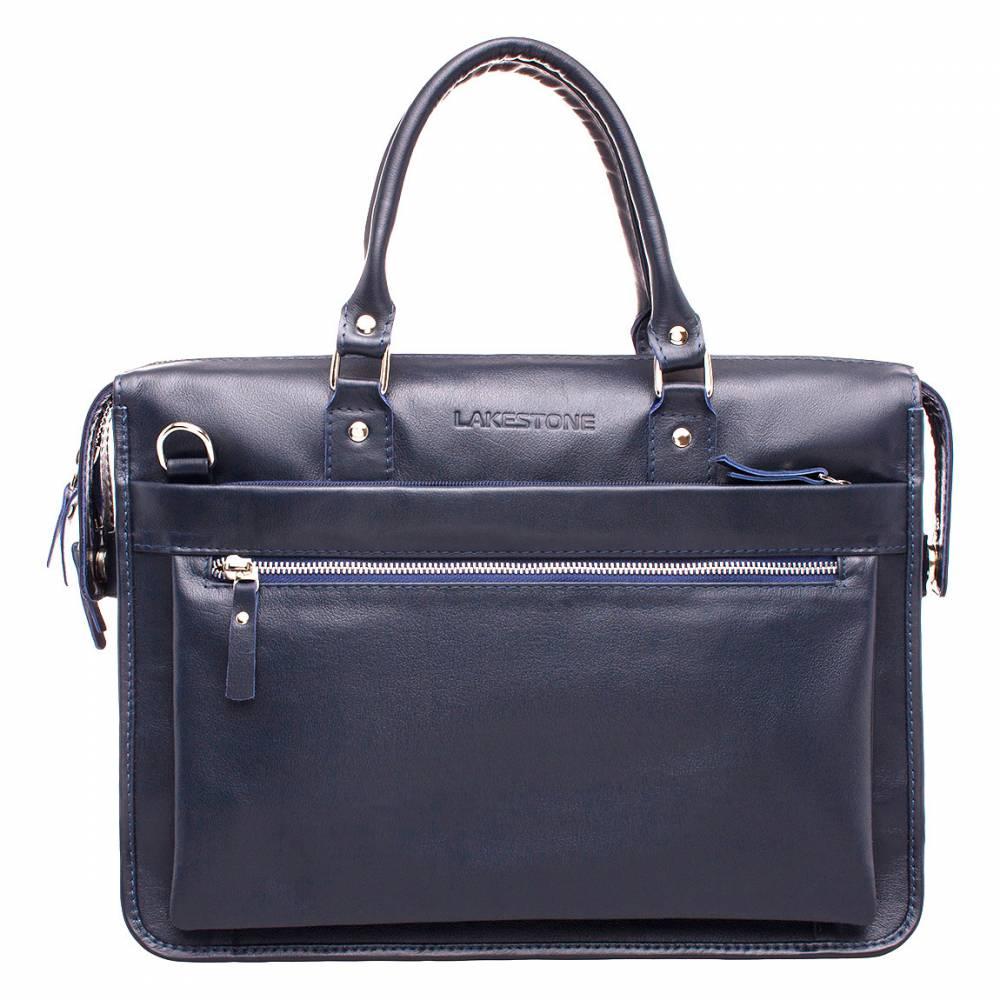 Купить Деловая сумка Halston Dark Blue, Lakestone