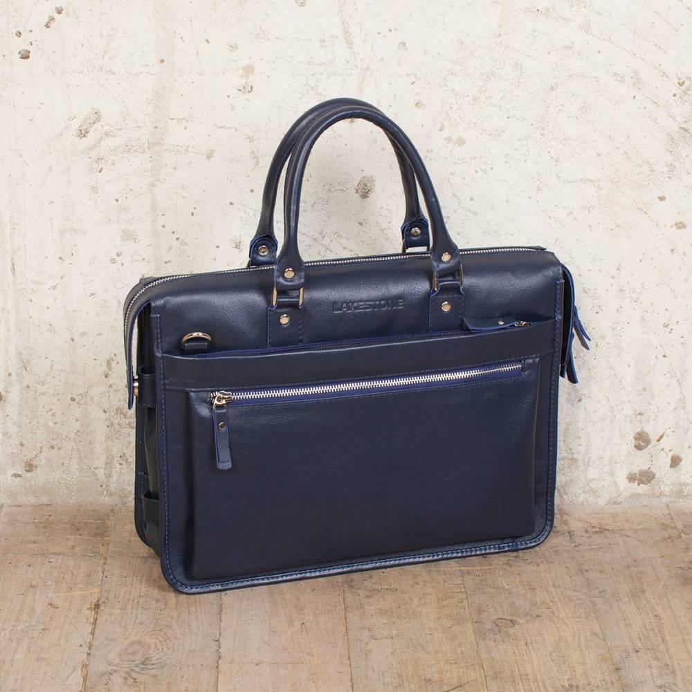 Деловая сумка Halston Dark Blue