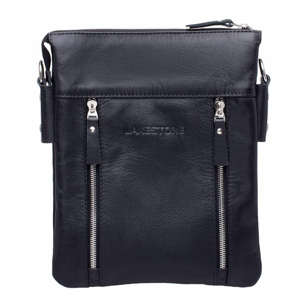 Сумка через плечо Harley BlackСтильная сумка с тщательно продуманным дизайном. Изделие пошито из натуральной кожи, которая смотрится очень привлекательно. Сумка предназначена для хранения вещей, необходимых в повседневной жизни, а также для документов в формате А5. Это очень удобно, так как позволяет на протяжении дня пользоваться компактным изделием и при этом не загружать руки. Съемный ремень имеет оптимальную длину и ширину.<br>