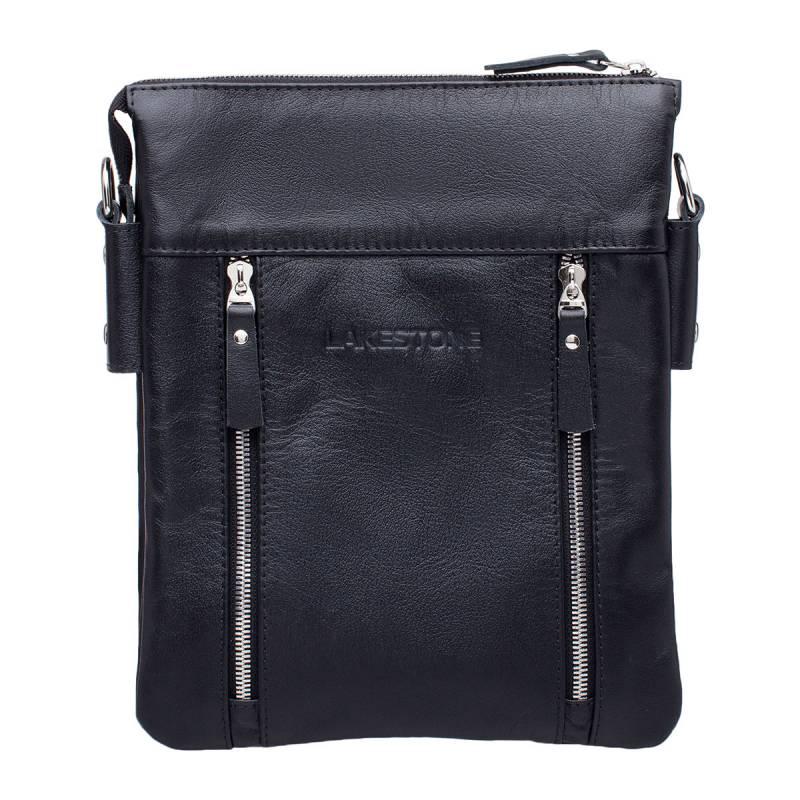 Сумка через плечо Harley BlackСтильная сумка с тщательно продуманным дизайном. Изделие пошито из натуральной кожи, которая смотрится очень привлекательно. Сумка предназначена для хранения вещей, необходимых в повседневной жизни, а также для документов в формате А5. Это очень удобно, так как позволяет на протяжении дня пользоваться компактным изделием и при этом не загружать руки. Кстати, ремень выполнен из натуральной кожи и имеет оптимальную длину и ширину.<br>