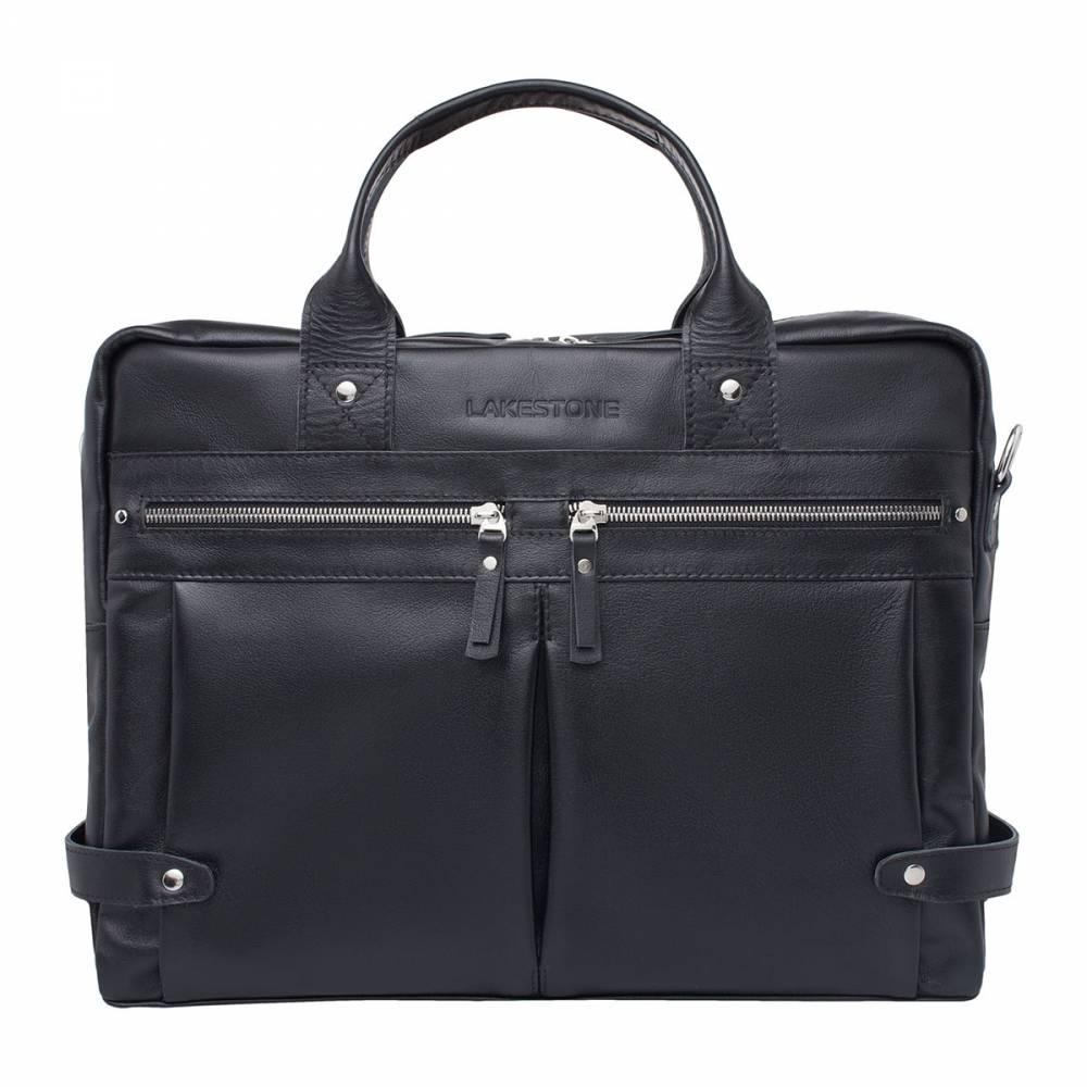 Деловая сумка Jacob BlackУдобная и невероятно стильная мужская сумка из натуральной&#13; кожи. Изделие отличается строгостью форм, которые призваны подчеркнуть характер&#13; владельца. Очень интересен дизайн сумки. Она выглядит одновременно солидно и&#13; привлекательно. За классикой форм и цвета скрываются актуальные тенденции&#13; современности. Сумка практична в эксплуатации. Есть много карманов для&#13; хранения самых разнообразных мелочей. Но и для габаритных вещей найдется место.&#13; Так, в основное отделение без проблем можно поместить ноутбук до 15 дюймов в&#13; диагонали и бумаги формата А4, что очень актуально для любого бизнесмена.<br>